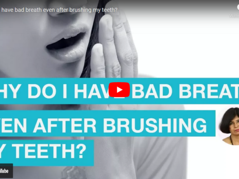What causes bad breath even after brushing