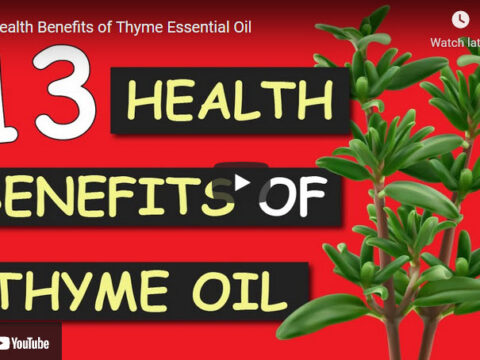 Use Thyme Oil