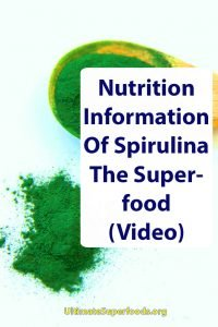 Superfood-Spirulina