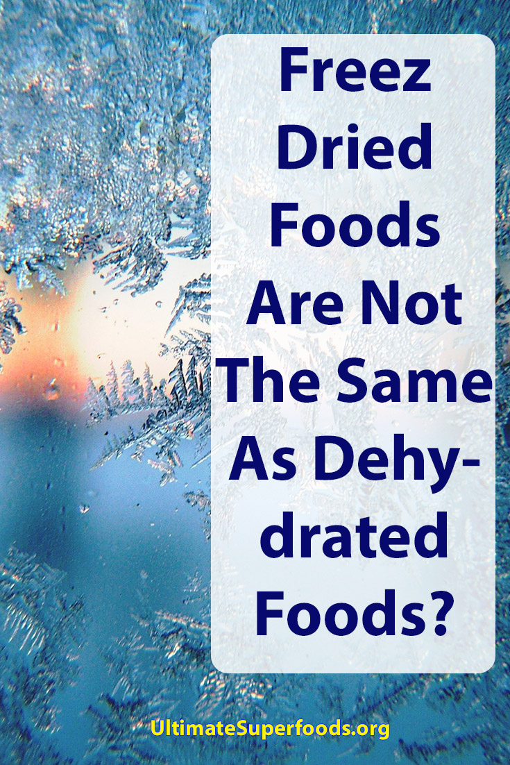 Superfood-Dehydrated Crisis Preparedness