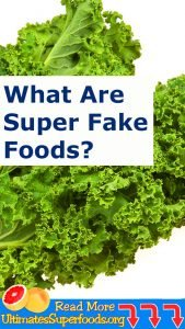More Like SUPER FAKE Foods!!!