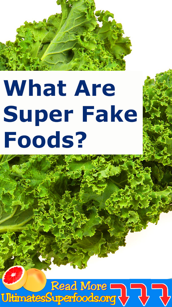 More Like SUPER FAKE Foods!!!