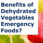 Benefits of Dehydrated Vegetables And Fruits for Emergency Foods?