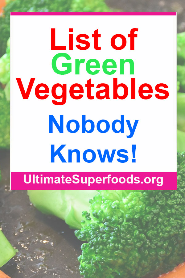 List-Of-Green-Vegetables