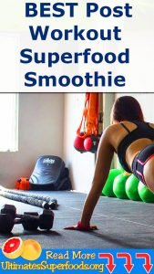 THIS Is The BEST Post Workout Superfood Smoothie
