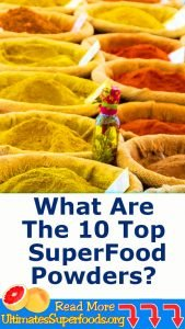 what are the 10 top superfood powders
