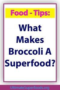 Superfood-Broccoli