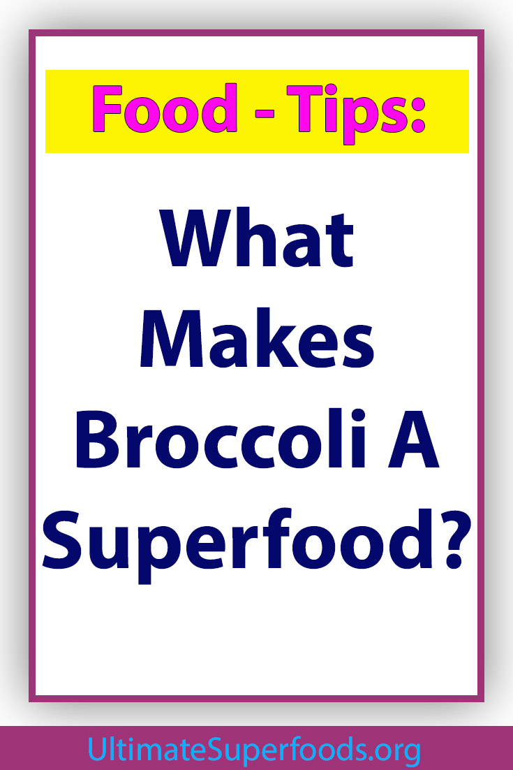Superfood-Broccoli