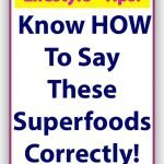 Superfood-Correctly
