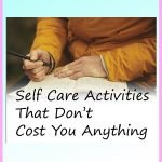 6 Self-Care Activities That Don't Cost You Anything