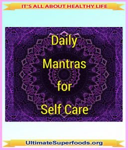 Daily Mantras for Self-Care
